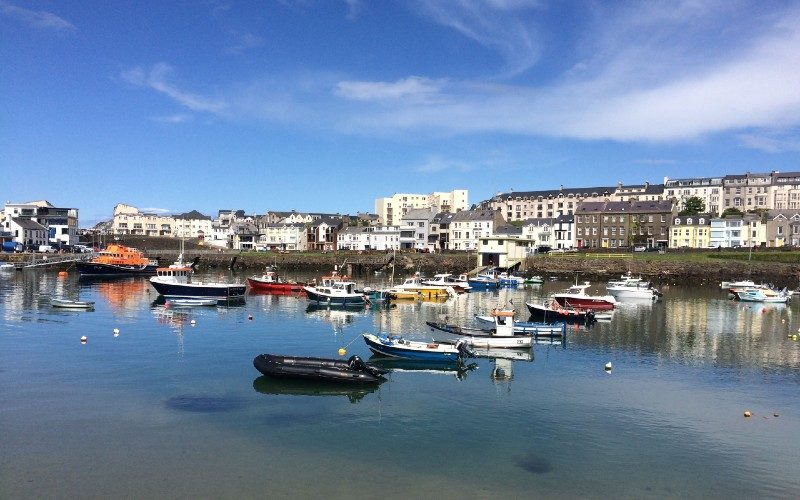 Portrush Harbour Northern Ireland with Emma Thorpe